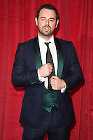 Danny Dyer<br /> arrives for the British Soap Awards 2016 at Hackney Empire, London.<br /> <br /> <br /> &copy;Ash Knotek  D3124  28/05/2016