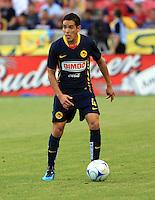 Oscar Rojas in the Club America @ Real Salt Lake 0-1 RSL win at Rio Tinto Stadium in Sandy, Utah on July 11, 2009