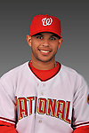 14 March 2008: ..Portrait of Yhonson Lopez, Washington Nationals Minor League player at Spring Training Camp 2008..Mandatory Photo Credit: Ed Wolfstein Photo