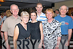 Philip and Kathleen McNiell from Laois, Martin and Mairead Bergin from Laois, Eimear Daly and Bernard Cronin from Killarney enjoying the Set Dancing Ceili in Darby O'Gills in Killarney last Friday night.