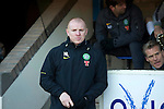 St Johnstone v Celtic.....12.04.11.Neil Lennon back in the dugout.Picture by Graeme Hart..Copyright Perthshire Picture Agency.Tel: 01738 623350  Mobile: 07990 594431