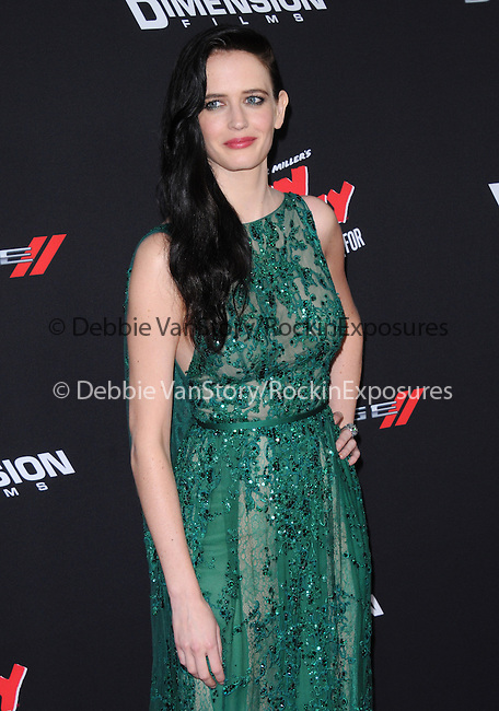 Eva Green attends The Dimension Film's L.A. Premiere of FRANK MILLER'S SIN CITY: A DAME TO KILL FOR held at  The TCL Chinese Theatre in Hollywood, California on August  19,2014                                                                               © 2014 Hollywood Press Agency