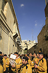 Israel, Jerusalem, Palm Sunday procession