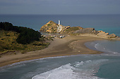 Looking down on Castlepoint from Castle rock hill.
