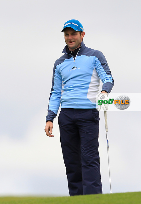 Peter Kirby (Dun Laoghaire) on the 10th fairway during Round 3 of the Irish Mid-Amateur Open Championship at New Forest on Sunday 21st June 2015.<br /> Picture:  Thos Caffrey / www.golffile.ie