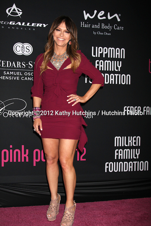 """LOS ANGELES - OCT 26:  Elyse Walker arrives at """"The Pink Party '12"""" at Hanger 8 on October 26, 2012 in Santa Monica, CA"""