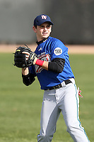 January 16, 2010:  Aaron Gowan (Madison, WI) of the Baseball Factory Great Lakes Team during the 2010 Under Armour Pre-Season All-America Tournament at Kino Sports Complex in Tucson, AZ.  Photo By Mike Janes/Four Seam Images