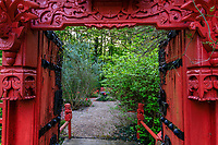 France, Indre-et-Loire (37), Amboise, la pagode de Chanteloup, le jardin anglo-chinois
