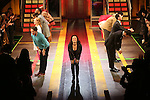 Margot Seibert with cast during the Broadway Opening Night Performance Curtain Call for 'In Transit' at Circle in the Square Theatre on December 11, 2016 in New York City.