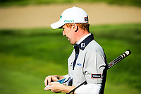 Gavin Moynihan (IRL) during the first round of the Kazakhstan Open presented by ERG played at Zhailjau Golf Resort, Almaty, Kazakhstan. 13/09/2018<br /> Picture: Golffile | Phil Inglis<br /> <br /> All photo usage must carry mandatory copyright credit (&copy; Golffile | Phil Inglis)