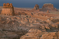 Sandstone buttes <br />