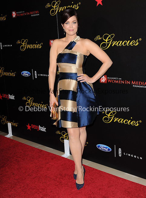 Bellamy Young attends The Alliance for Women in Media Foundation's 39th Annual Gracie Awards, Honoring Exemplary Women in Media in Beverly Hills, California on May 20,2014                                                                               © 2014 Hollywood Press Agency