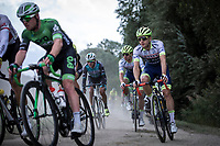 Later race winner Aimé De Gendt (BEL/Wanty Gobert) in the peloton on a gravel section<br /> <br /> Antwerp Port Epic 2019 <br /> One Day Race: Antwerp > Antwerp 187km<br /> <br /> ©kramon