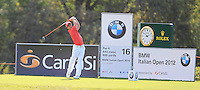 Thorbjorn Olesen (DEN) during day one of the BMW Italian Open presented by CartaSi, at Royal Park I Roveri,Turin,Italy..Picture: Fran Caffrey/www.golffile.ie.