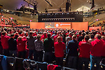 15.11.2019, Olympiahalle München , Muenchen, GER, 1.FBL,  FC Bayern Muenchen Jahreshauptversammlung 2019, DFL regulations prohibit any use of photographs as image sequences and/or quasi-video, im Bild standing ovation fuer Uli Hoeness (Praesident FCB) <br /> <br />  Foto © nordphoto / Straubmeier