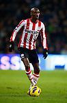 Nederland, Eindhoven, 2 februari 2013.Eredivisie.Seizoen 2012-2013.PSV-ADO Den Haag (7-0).Atiba Hutchinson van PSV in actie met bal