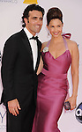 LOS ANGELES, CA - SEPTEMBER 23: Dario Franchitti and Ashley Judd arrive at the 64th Primetime Emmy Awards at Nokia Theatre L.A. Live on September 23, 2012 in Los Angeles, California.
