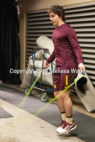 Vinni Lettieri (MN - 19) - The Union College Dutchmen defeated the University of Minnesota Golden Gophers 7-4 to win the 2014 NCAA D1 men's national championship on Saturday, April 12, 2014, at the Wells Fargo Center in Philadelphia, Pennsylvania.