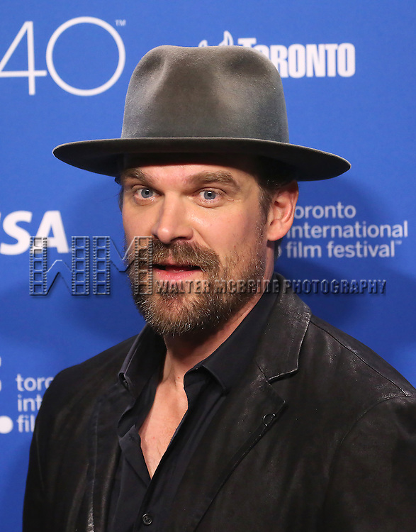 David Habour attends the 'Black Mass' photo call during the 2015 Toronto International Film Festival at Roy Thomson Hall on September 14, 2015 in Toronto, Canada.