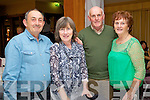 Billy O'Donovan, Maggie Kinsella, Kevin O'Halloran and Josephine O'Halloran, pictured at the opening of the Christy Hennessy weekend, held in the Carlton Hotel, Tralee on Friday evening.