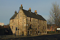 Provand's Lordship, the oldest house in Glasgow, Cathedral Square, Glasgow<br /> <br /> Copyright www.scottishhorizons.co.uk/Keith Fergus 2011 All Rights Reserved