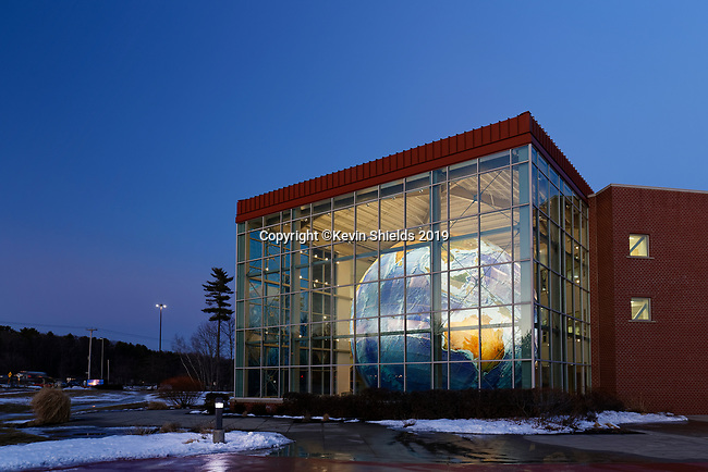Garmin building, Yarmouth, Maine, USA