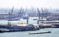 Nederland - Rotterdam - 26 maart 2018.  De haven van Rotterdam.   Foto Berlinda van Dam / Hollandse Hoogte.