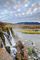Fall Creek Falls, Autumn Sunrise, Southfork Snake River, Swan Valley, Idaho
