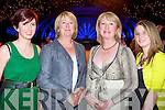 DALY STYLE: The Daly clan having a great time at the Rose of Tralee International Fashion Show on Sunday l-r: Teresa, Eileen, Mary and Cliona Daly..   Copyright Kerry's Eye 2008