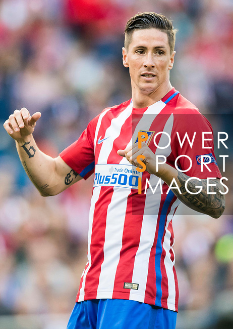 Fernando Torres of Atletico de Madrid looks on during their 2016-17 UEFA Champions League Semifinals 2nd leg match between Atletico de Madrid and Real Madrid at the Estadio Vicente Calderon on 10 May 2017 in Madrid, Spain. Photo by Diego Gonzalez Souto / Power Sport Images