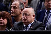 3rd November 2019, AccorHotels Arena, Bercy, Paris, France; Rolex Paris masters Tennis tournament, finals day;  Bernard Giudicelli - president FFT
