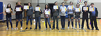 Photo Submitted<br /> Eighth grade AB Honor Roll students for the first semester are (left), Piper Ellis, Genesis Shaw, Hailee Montgomery, Blaine Ortiz,  Kaylea Howell, Wyatt Fausett, Ezariah Gurwell, Sarah Jordan, Savannah Copelin, Kyle Haril-Killion, and Huxley Wardlaw.  Not pictured are Landon Gooder, Hailee Montgomery, and Harley Ray.