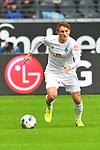 06.10.2019, Commerzbankarena, Frankfurt, GER, 1. FBL, Eintracht Frankfurt vs. SV Werder Bremen, <br /> <br /> DFL REGULATIONS PROHIBIT ANY USE OF PHOTOGRAPHS AS IMAGE SEQUENCES AND/OR QUASI-VIDEO.<br /> <br /> im Bild: Josh Sargent (SV Werder Bremen #19)<br /> <br /> Foto © nordphoto / Fabisch