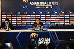 Thailand's Pre-Match Press Conference and Official Training Session prior to the2018 FIFA World Cup Russia Asian Qualifiers Final Qualification Round Group B match between Thailand and Australia at Rajamangala Stadium on 14 November 2016, in Bangkok, Thailand. Photo by Thananuwat Srirasant / Lagardere Sports