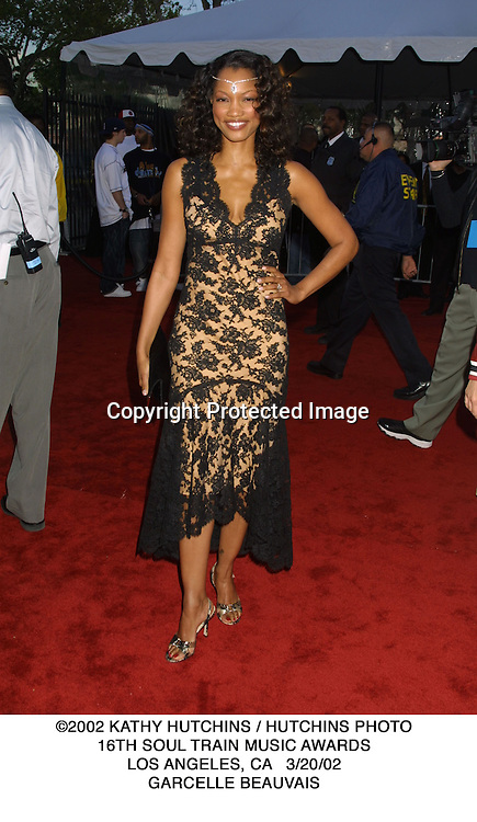 ©2002 KATHY HUTCHINS / HUTCHINS PHOTO.16TH SOUL TRAIN MUSIC AWARDS.LOS ANGELES, CA   3/20/02.GARCELLE BEAUVAIS