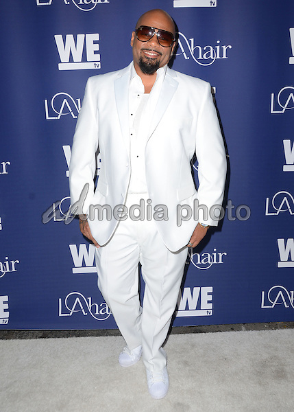 "14 July 2015 - Hollywood, California - Dontay Savoy. Arrivals for WE Tv's ""L.A. Hair"" premiere party held at Avalon Hollywood. Photo Credit: Birdie Thompson/AdMedia"