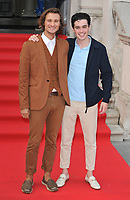 guest and Jack Rowan at the &quot;The Wife&quot; Film4 Summer Screen opening gala &amp; launch party, Somerset House, The Strand, London, England, UK, on Thursday 09 August 2018.<br /> CAP/CAN<br /> &copy;CAN/Capital Pictures