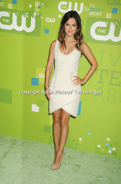 Rachel Bilson in Chanel Couture beige dress attending The CW 2011 Upfront on May 19, 2011 at Jazz at Lincoln Center in New York City.