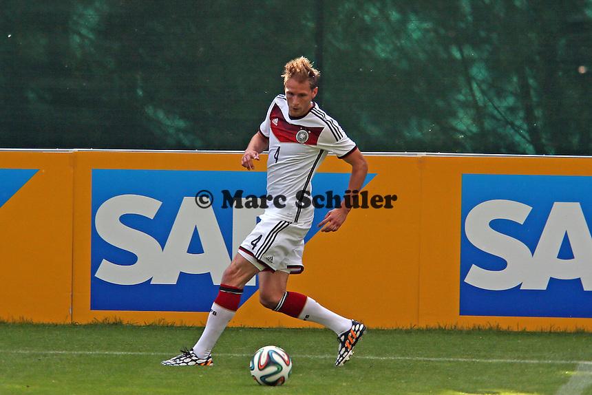 Benedikt Höwedes - Testspiel der Deutschen Nationalmannschaft gegen die U20 zur WM-Vorbereitung in St. Martin