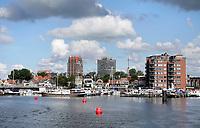 Nederland - Zaandam - 2020. Haven van Zaandam. De Zaan.   Foto : ANP/ Hollandse Hoogte / Berlinda van Dam