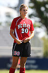 NC State's Megan Buescher on Sunday, October 1st, 2006 at Koskinen Stadium in Durham, North Carolina. The Duke Blue Devils defeated the North Carolina State University Wolfpack 3-0 in an Atlantic Coast Conference NCAA Division I Women's Soccer game.
