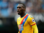 Christian Benteke of Crystal Palace during the English Premier League match at the Etihad Stadium, Manchester. Picture date: May 6th 2017. Pic credit should read: Simon Bellis/Sportimage