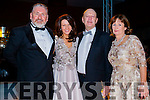 Norman Finn Declan Brennan Betty Griffin (Killorglin), pictured at KFW Irish Fashion Industry Awards at the Europe Hotel, Killarney on Friday night last.