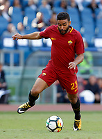 Calcio, Serie A: Roma vs Udinese. Roma, stadio Olimpico, 23 settembre 2017.<br /> Roma&rsquo;s Gregoire Defrel in action during the Italian Serie A football match between Roma and Udinese at Rome's Olympic stadium, 23 September 2017. Roma won 3-1.<br /> UPDATE IMAGES PRESS/Riccardo De Luca