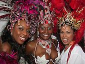 Paraiso School of Samba performing at the Mayor's Thames Festival, London 2009