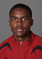 STANFORD, CA - SEPTEMBER 29:  Gabriel Washington of the Stanford Cardinal during track and field picture day on September 29, 2009 in Stanford, California.