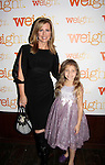 As The World Turns Martha Bryne poses with Peyton Ella (plays her daughter in show) - Weight: The Series held its premiere party on October 8, 2014 at Galway Pub, New York City, New York. (Photo by Sue Coflin/Max Photos)