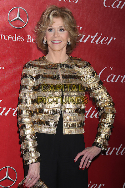 PALM SPRINGS, CA - January 04: Jane Fonda at the 25th Annual Palm Springs International Film Festival, Palm Springs Convention Center, Palm Springs,  January 04, 2014. Credit: Janice Ogata/MediaPunch Inc.