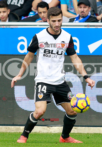 Valencia CF's Jose Luis Gaya during La Liga match. October 28,2017. (ALTERPHOTOS/Acero) /NortePhoto.com