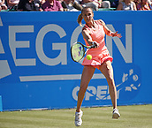 June 15th 2017, Nottingham, England; WTA Aegon Nottingham Open Tennis Tournament day 6;  Magdalena Rybarikova of The Slovak Republic in action